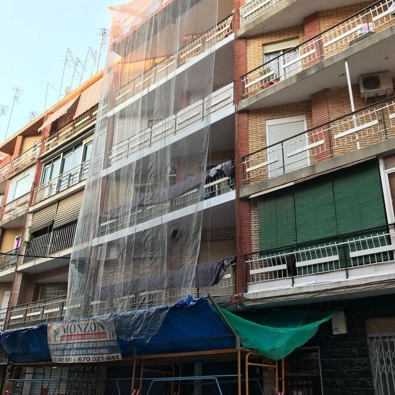 Pintura de fachadas en Xirivella