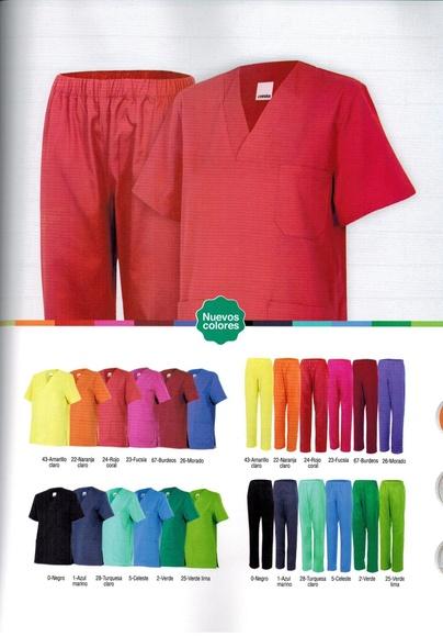 Camisolas y pantalones pijama para sanidad, estética y limpieza: Productos y servicios de Prieto Larrey