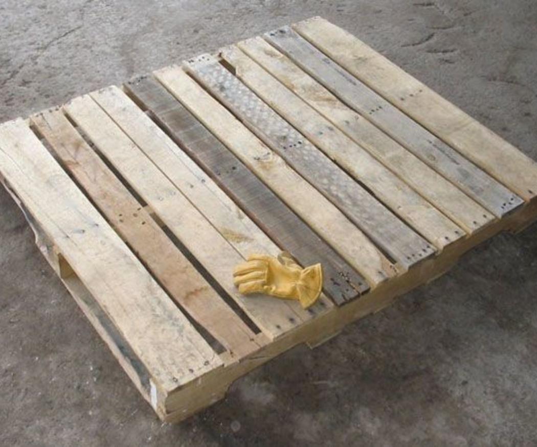 Tratamiento de la madera de los palets