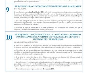 10 CLAVES DE LA REFORMA DE MEDIDAS URGENTES DEL TRABAJO AUTÓNOMO.