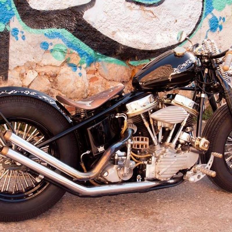 venta harley davidson, venta panhead, construcion de motos, restauracion harley davidson, bobber, customizar motos, customizar harley davidson