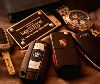 Duplicado llaves y mandos AUDI A3 8P +02: Llaves de coche y electrónica  de eCarSecurity