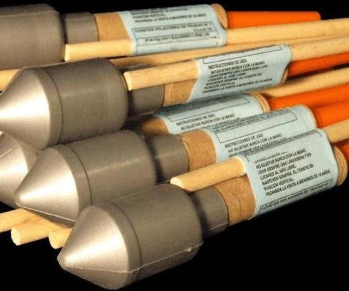 Cohetes: Catálogo de Comercial Fiesta