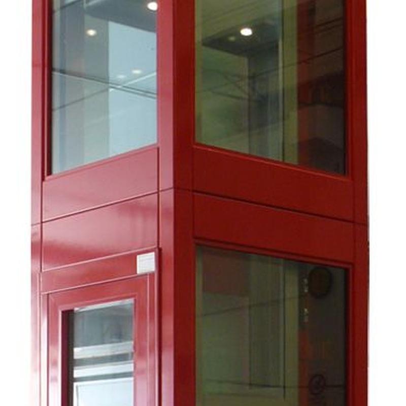 Estructura de cierre para elevador: Productos y servicios de TOT ELEVACIÓ