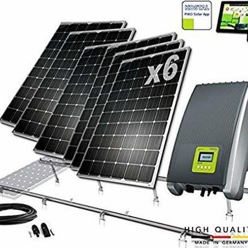 Placas solares en Granada 1500w