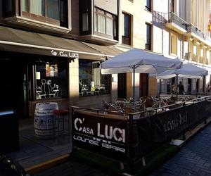 Bar con terraza de verano en Zamora