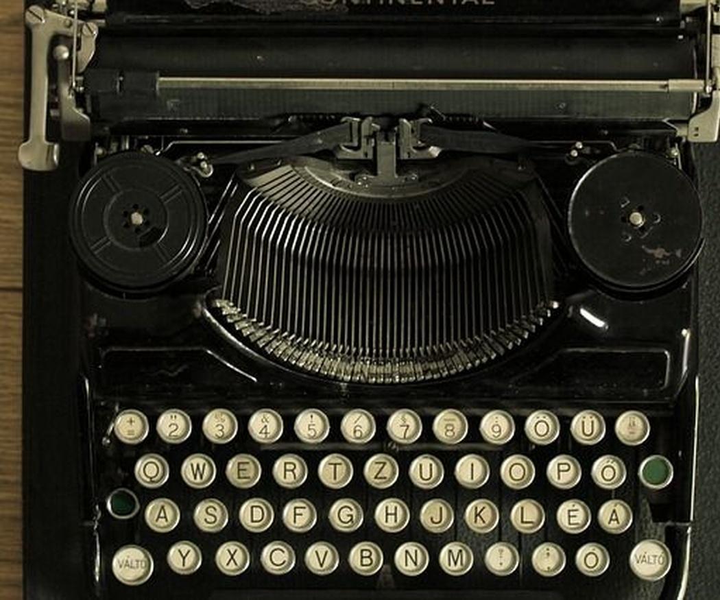 Consejos para el mantenimiento de una máquina de escribir antigua