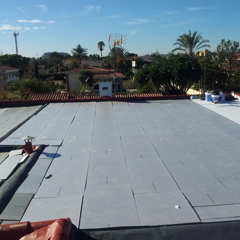 Reparación de cubiertas: Servicios de Galana, S.L.L. Impermeabilizaciones