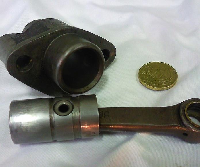 Rectificado y construccion de un pequeño cilindro de 2 tiempos
