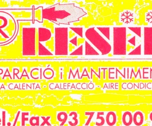 Antiguo logotipo, RESER