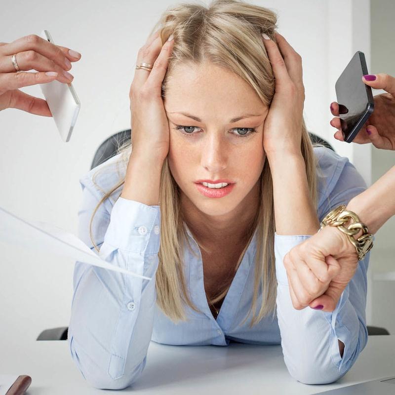 Estrés: Especialidades de Gabinete de Psicología Mercedes Guillén