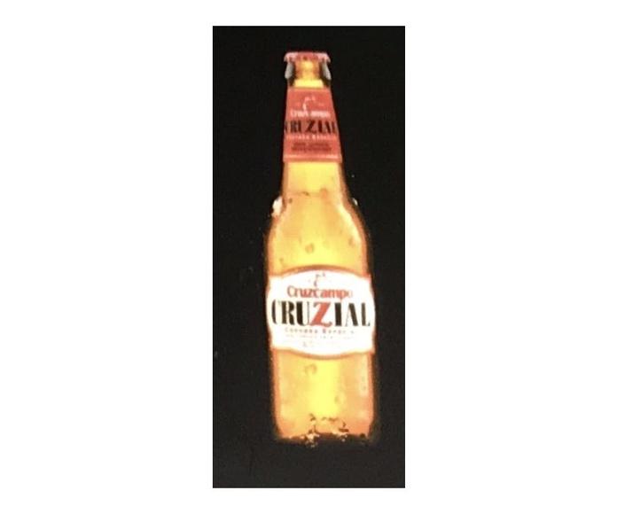 Cruzcampo  Cruzial: En nuestro local de Cervecería Ca'Melán