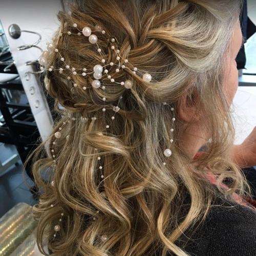 Peinados y semirecogidos para eventos