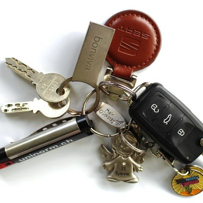 Cómo serán las llaves de coche del futuro