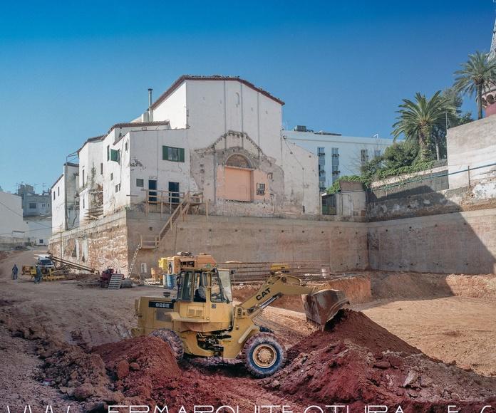 Parking El Retiro 244 Plazas de Aparcamiento.  Architect Sitges FPM : Proyectos  architectsitges.com de FPM Arquitectura