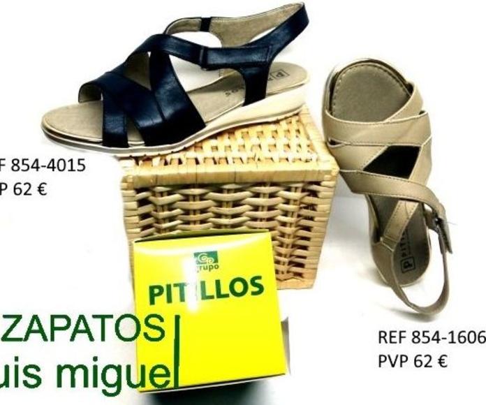 sandalia tiras cruzadas pitillos: Catalogo de productos de Zapatos Luis Miguel