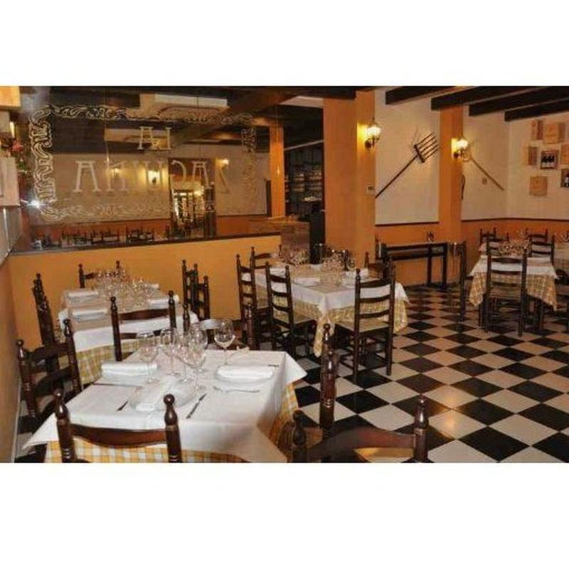 Mariscos: Carta de Restaurante La Zaguina