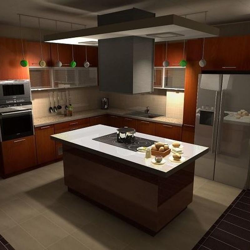 Cocinas y baños: Servicios de Moliner Instalaciones Obras Y Servicios