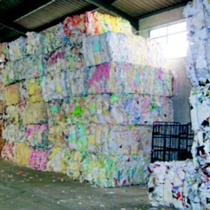 ¿Sabes cómo se recicla el papel?