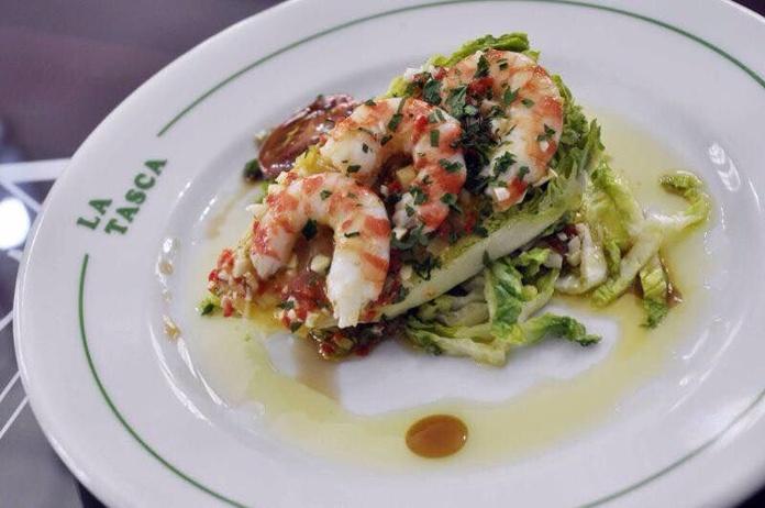 Ensaladas | Salads | Salate: Carta de Restaurante La Tasca
