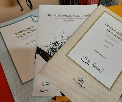 """Métodos y partituras de Pedro Izquierdo disponibles en """"Los Menceyatos"""""""