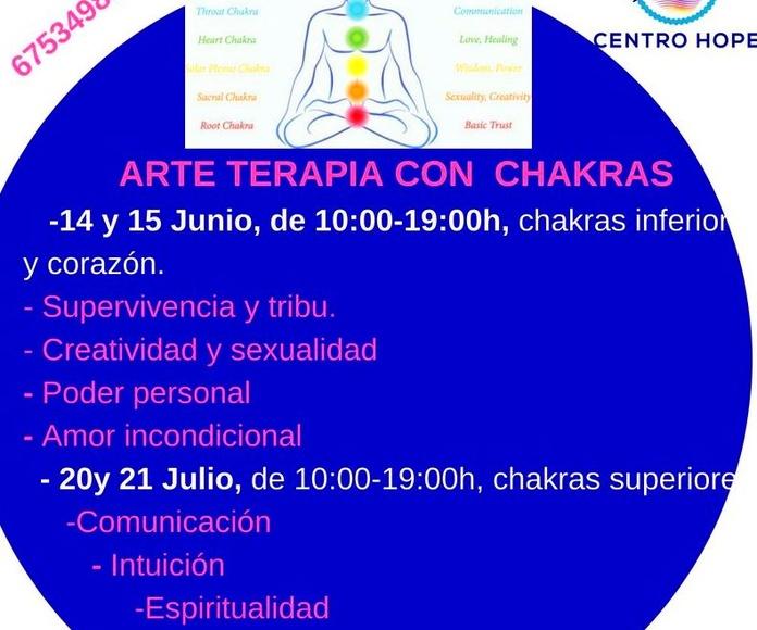 Arteterapia chakras- Centro hope