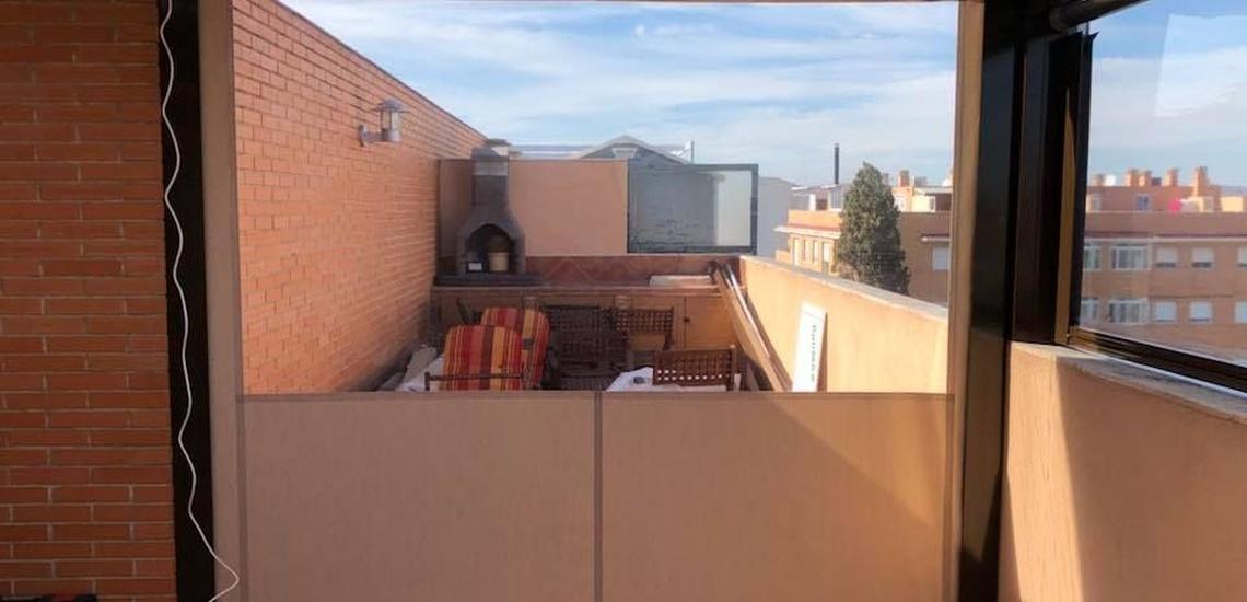 Cerramientos de terrazas a medida en Murcia