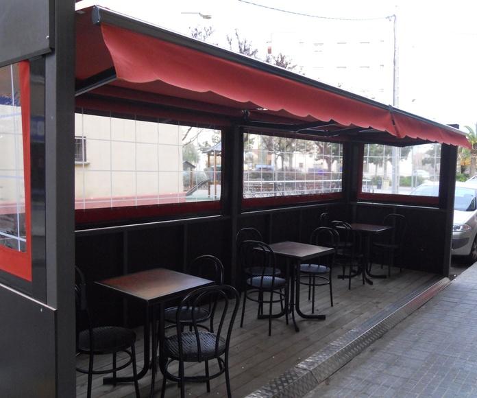 Carpas para Terrazas de Bares y Cafeterías