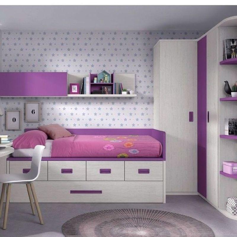 Dormitorio juvenil Formas: Catálogos de muebles de Muebles Salvador