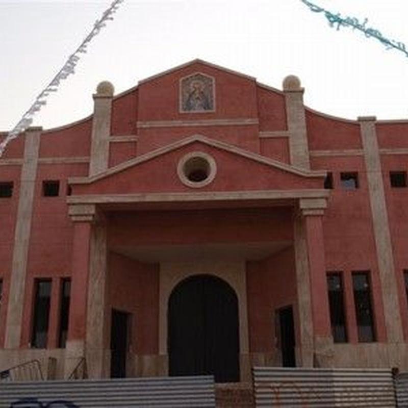 Iglesia Alcalá de guadaira: Catálogo y exposición de Alcomármol
