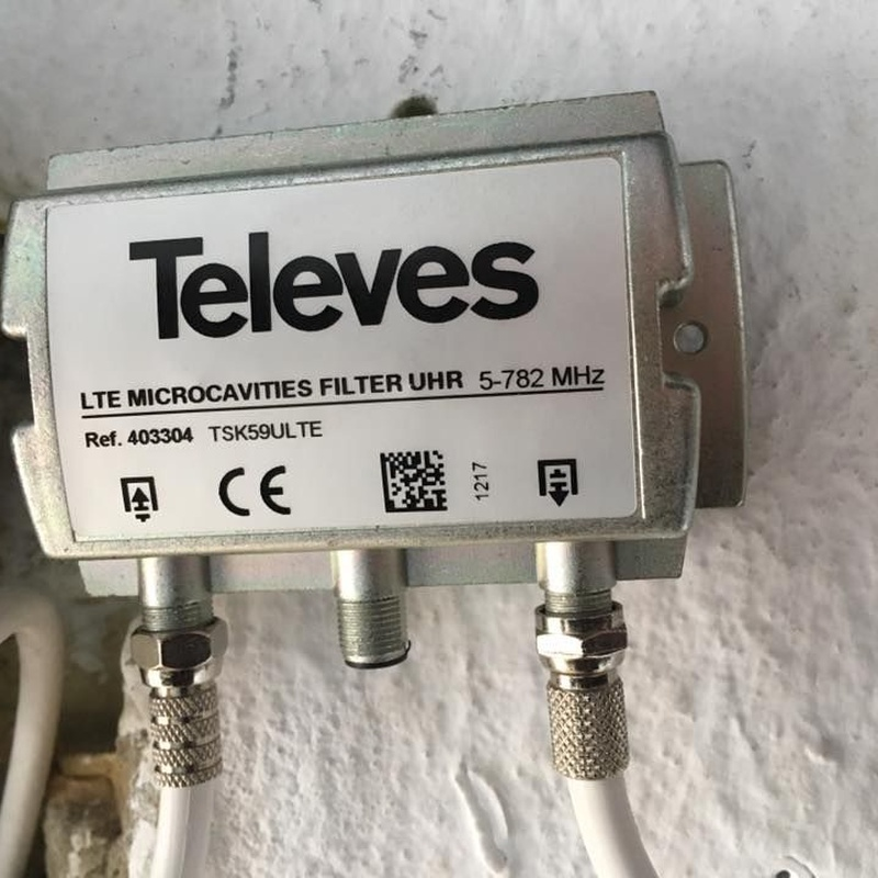 Antenas Televes para televisión