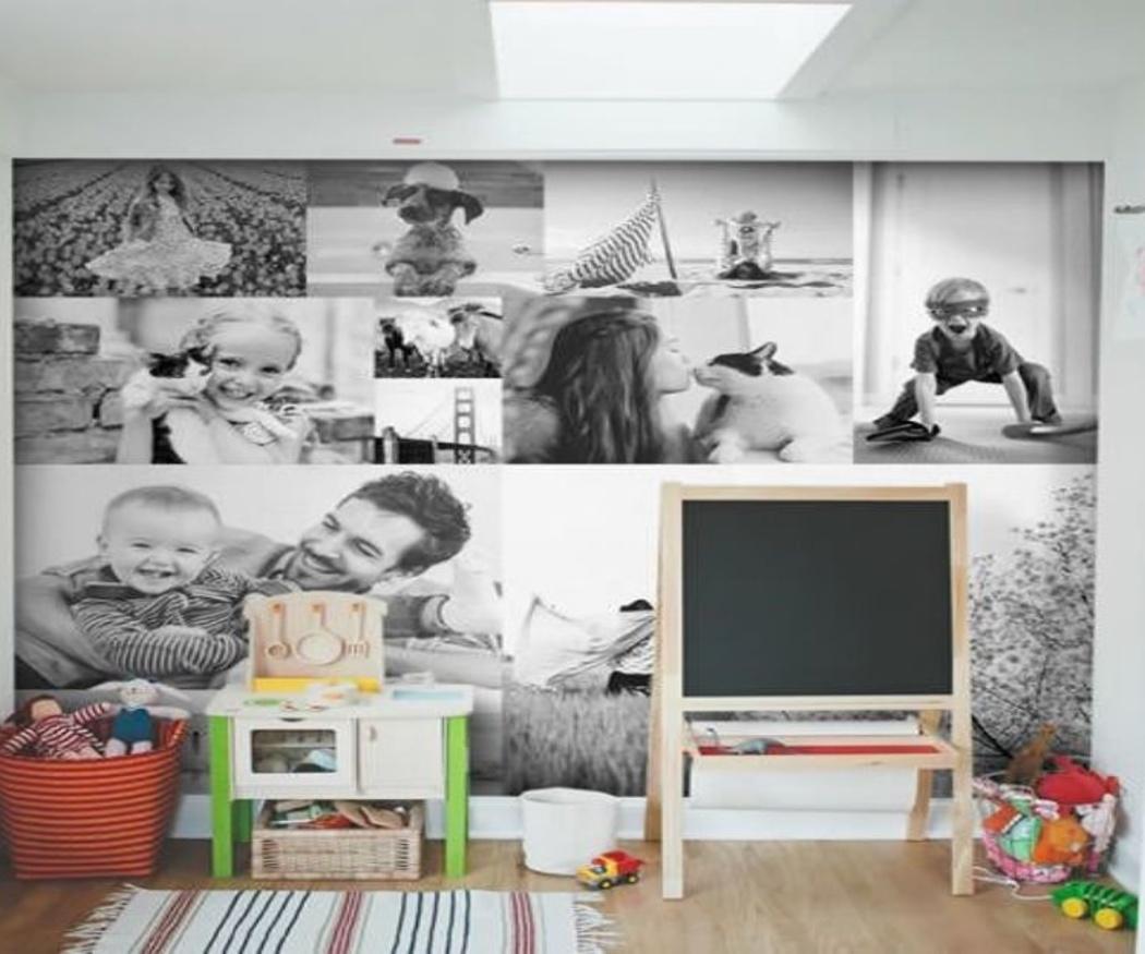 La tendencia de decorar nuestro hogar con fotos de gran formato