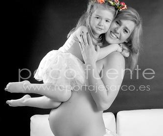 Fotografía de Bebés en Burgos. Recién nacidos.: Secciones Fotográficas - Menú de Paco Fuente - Reportajes fotográficos Arco