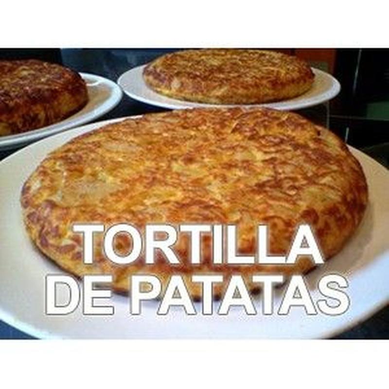 Tortilla de patata: Especialidades de Bar Casa Yoli