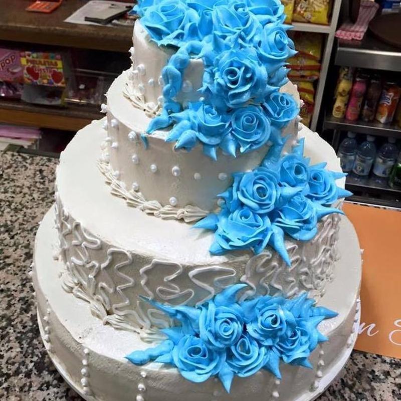 Tartas para bodas u otros eventos: Productos de Pastelería Flor Isleña