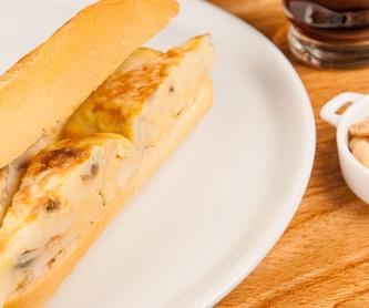 Sándwiches: Bar Restaurante de Casa Cañitas