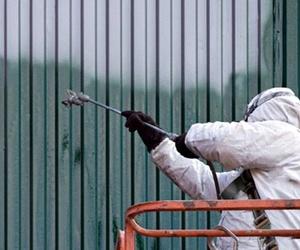 Seguridad laboral en el pintado industrial