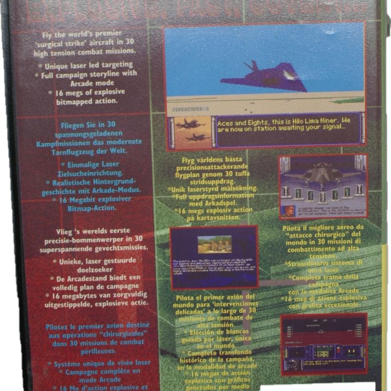 MEGA DRIVE F-117 NIGHT STORM: Compra y Venta de Ocasiones La Moneta