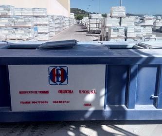 Maquinaria de obra pública: Servicios de Movimiento de Tierras Olucha Hnos.,S.L.
