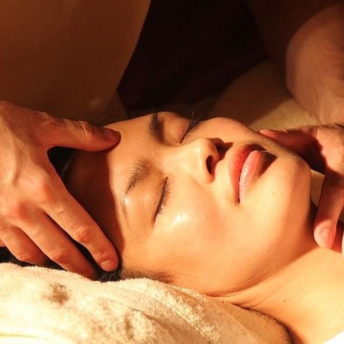 El masaje facial en la estética