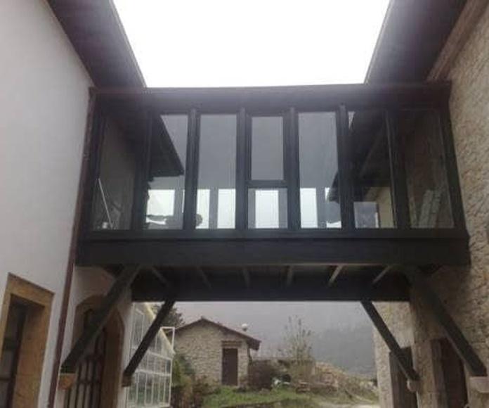 Tejados y estructuras: Catalogo de productos de Carpintería B.P. Cuétara Ibáñez