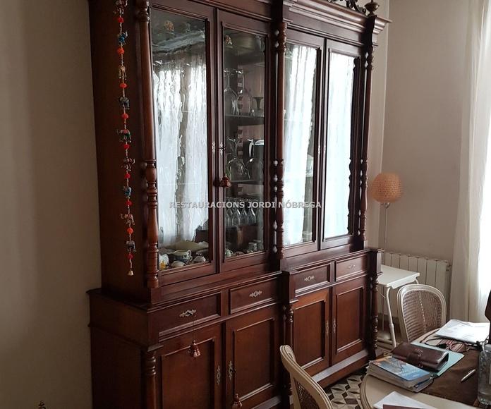 Restauración muebles Barcelona