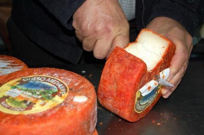 Queso con pimentón: Servicios de Quesos Caseros Valleseco