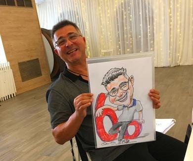 Animando un 60 cumpleaños