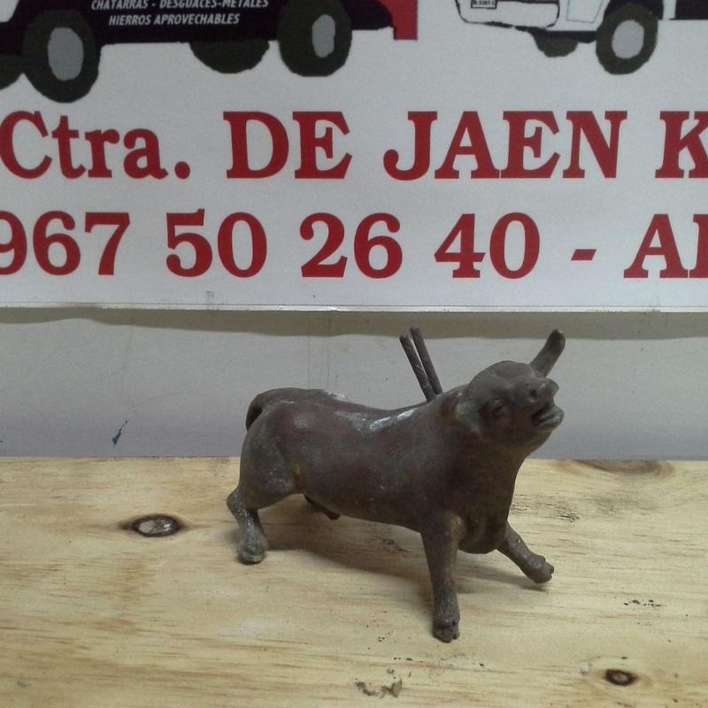 toro de laton en Chatarras Clemente