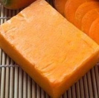 Jabón casero de zanahoria y miel ideal para tu piel