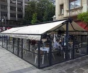 Cortavientos para terrazas y restaurantes