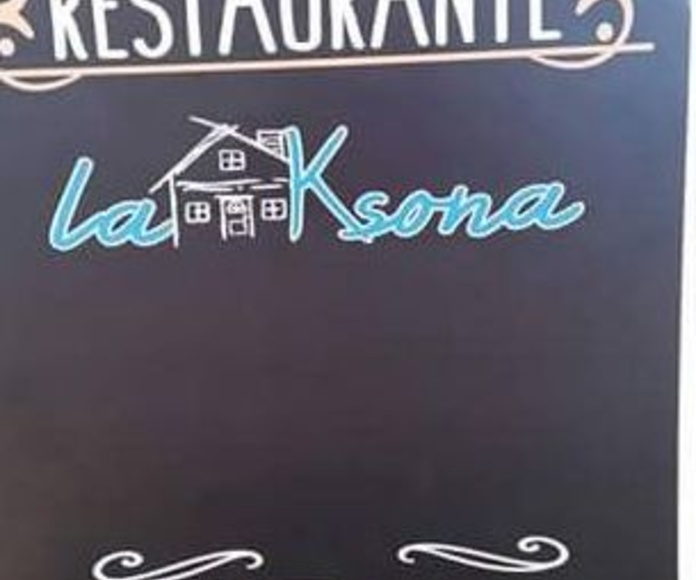 Jueves... El día de la tapa: Nuestros platos  de Restaurante La Ksona