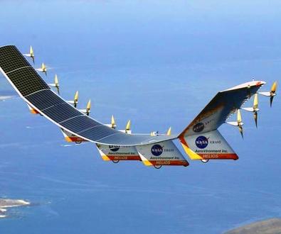 Aeronaves solares en vuelo permanente para llevar Internet a zonas remotas