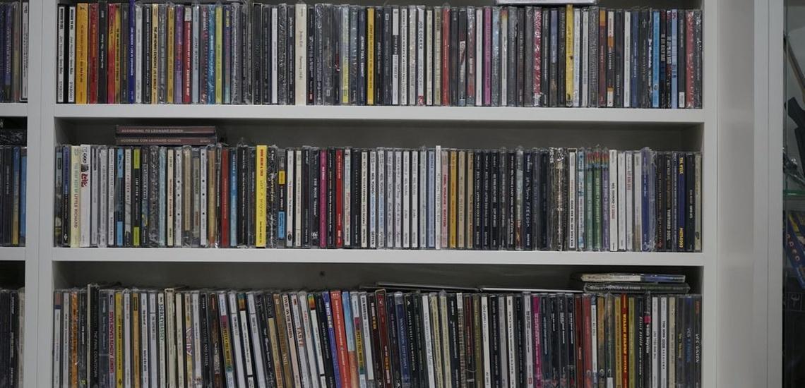 Venta de discos en Murcia y vinilos antiguos